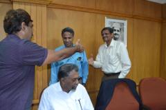 Dr.Ramayya Krishnan [1981/BT/ME] - Receiving DAA 2017
