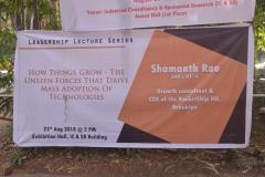 LLS - Mr.Shamanth Rao - 23rd Aug, 2018