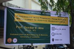 LLS - Prof. Sundar V. Atre - March 14, 2018