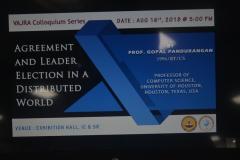 VAJRA Colloquium Series - Prof. Gopal Pandurangan