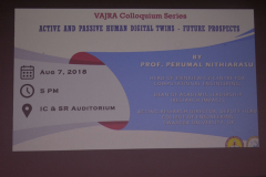 VAJRA - Prof. Perumal Nithiarasu's Talk