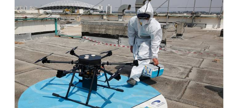 Vaccine delivery, the drone way: Prof. HSN Murthy