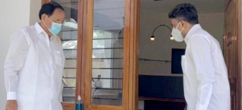 Hon'ble Vice President Shri. Venkaiah Naidu visits India's first 3D-printed house at IIT Madras