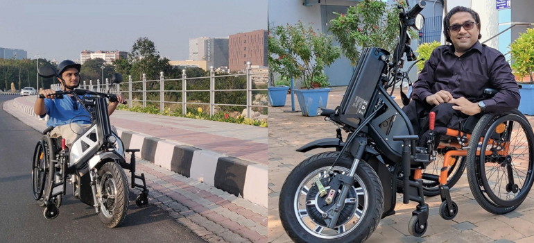 IIT Madras Develops India's First Indigenous Motorized Wheelchair Vehicle
